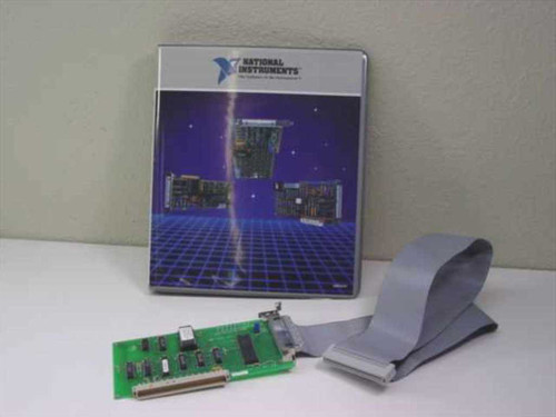 National Instruments 320094-01 NB-DIO-24 Digital I/O for the Macintosh II with Manual