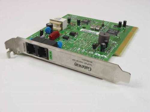 Gateway 6000905 PCI TelePath Internet 56K WinModem Card with RJ11 Telephone Port