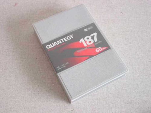 "Quantegy 187-KCA60 3/4"" U-Matic Tape 60 min Cassette Tape - NEW OPEN BOX"