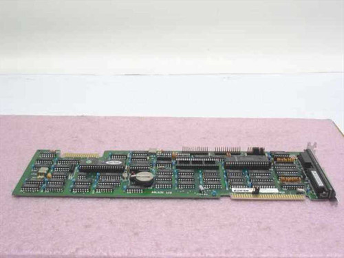 PC&C P991101 8-Bit ISA Long Multi I/O Card Serial Parallel Floppy Edge