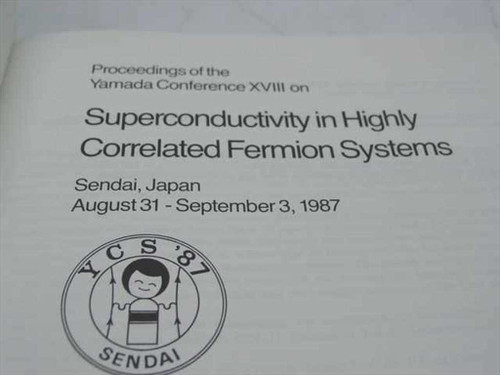 Tachiki, M. et al.-Superconductivity in Highly Correlated Fermion Systems 1987