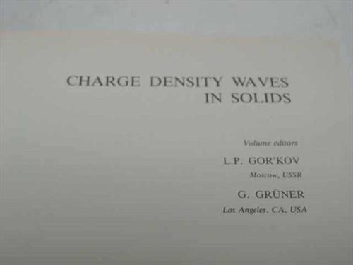 Gor'Kov, L..P. and Gruner, G., Eds. North-Holland 1989