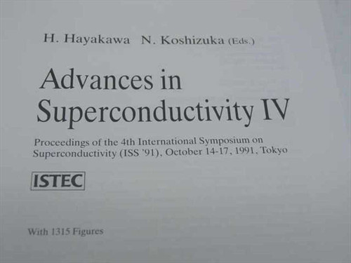 Hayakawa, H. and Koshizuka, N. , Eds.  Proceedings of the 4th International Symp