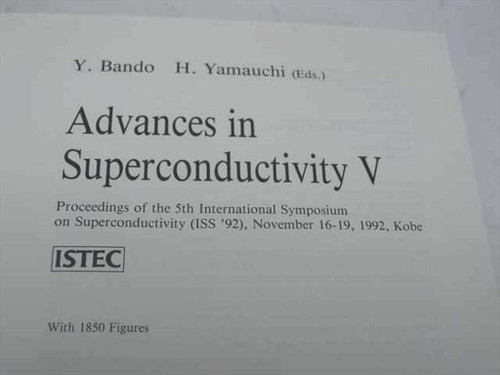 Bando, H. and Yamauchi, H., Eds.  Proceedings of the 5th International Symposium