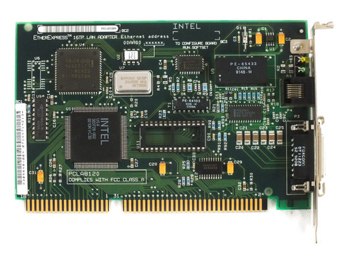 Intel EtherExpress 16 TP Lan ISA Adapter PCLA8120 (305648-004)