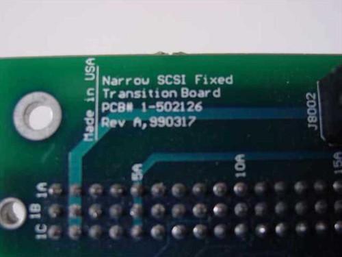 GNP 1-502126 PDSi Narrow SCSI Fixed Transition Board