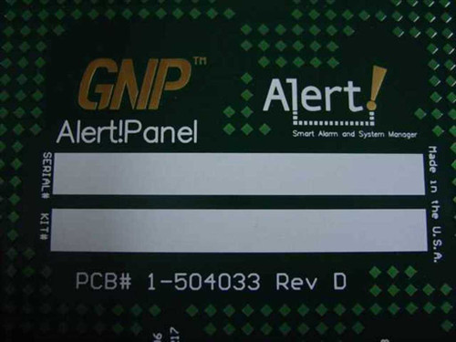 GNP PDSi Alert smart Alarm and system manager 1-504033