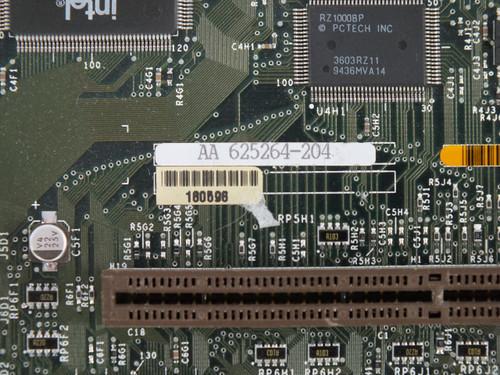 Intel AA 625264 Socket 5 System Board - 186774 / 180596 Packard Bell Motherboard