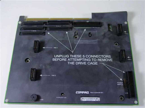 Compaq PROLIANT FAN CONTROLLER BOARD (304439-001)