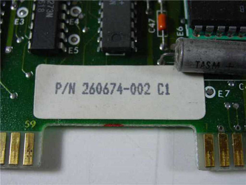 Data Products Serial I/F  260674-002