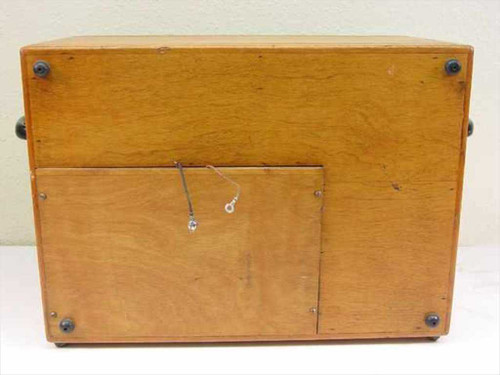 Brown Engineering 200-A Impedance Bridge in Wooden Case - Collectible - As-Is
