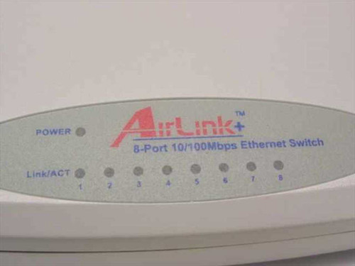 Air Link 8-Port 10/100 Mbps Ethernet Switch ASW108/A4