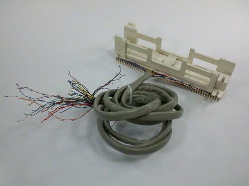 Reltek R66MI-50 50 Pair Punch Down Patch Panel Telco Termination Block T IV-96