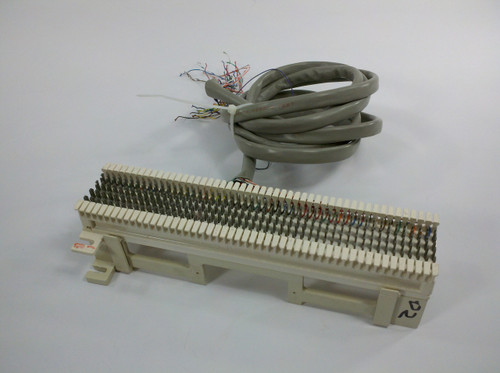 Reltek R66MI-50 50 Pair Punch Down Patch Panel Telco Termination Block T IV-96