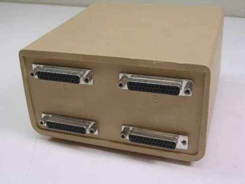 Aa Bb 25 Pin 2 way Data Transfer Switch 2 way switch