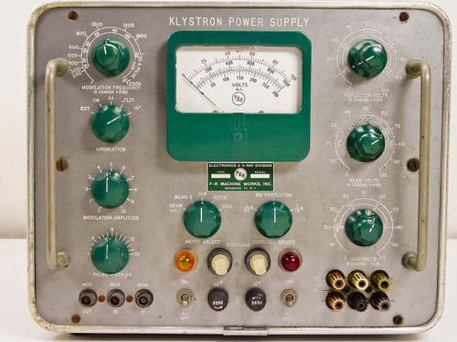Klystron 2819B 0-1000 VDC High Voltage DC Power Supply