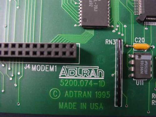 ADTRAN ISU 2X64 Uinterface RM 5200.0741D / NDNTKC01AA