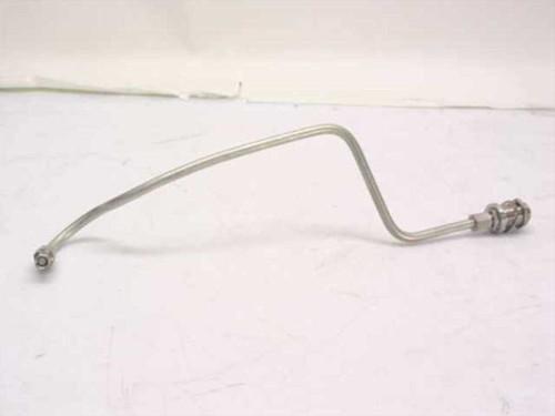 Generic Semi-rigid coaxial cable assemblies, N-F bulkhead  Aluminum mantle
