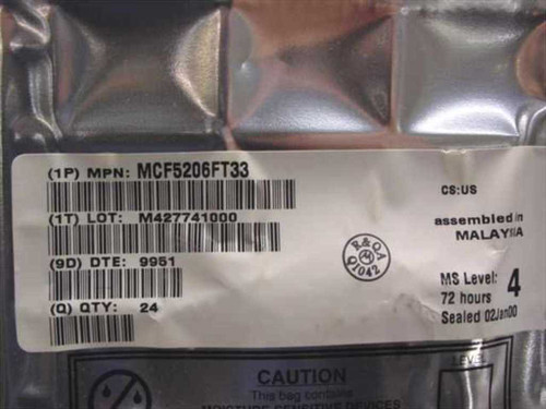 Freescale Motorola ColdFire V2 DRAM Controller MCF5206FT33