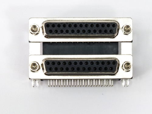 """Force Electronics 178-025-512-571 DB25 Connector Female-to-Female .750"""" Spacing"""