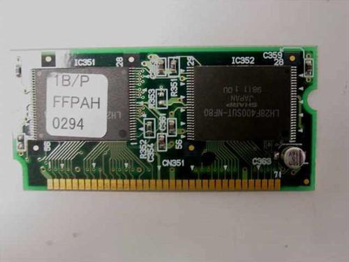 Panasonic FFPWB0620 Memory DIMM