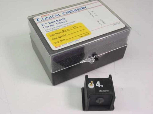 Abbott Clinical Chemistry 1365-02 K+ Electrode for Spectrum - New Open Box