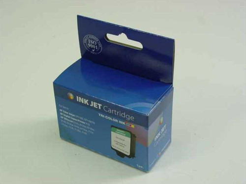 Generic Ink Jet Cartridge Tri Color Ink HP C5010