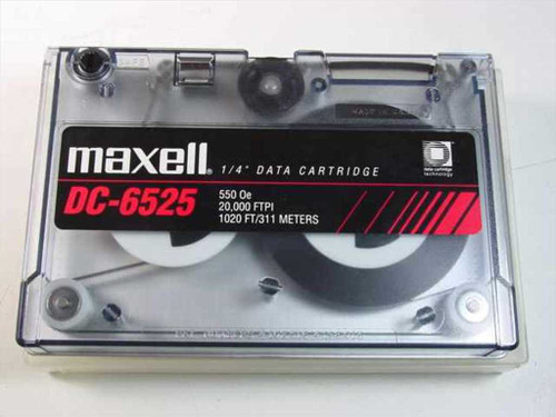 "Maxell 1/4"" Data Cartridge 1020 ft. (DC-6525)"