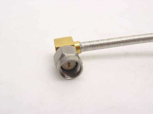 "Generic 4"" Cable Angled SMA-M connector to SMA-M connector (Semi-Rigid)"