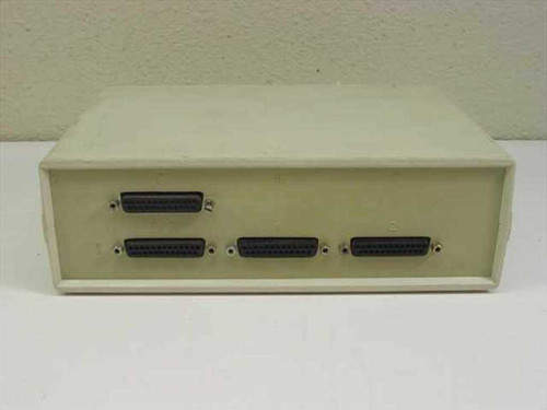 General Interface Systems Two 25-PIn Data Input Output Switch AB