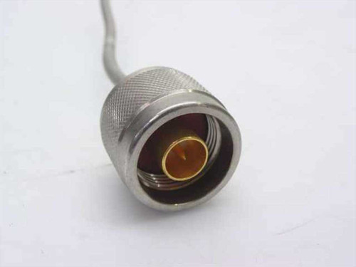 Generic Cable angled SMA-M connector to N-F bulkhead connector (Semi-Rigid)