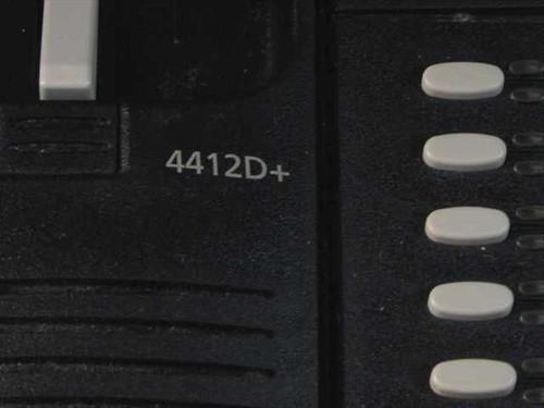Avaya 108199050 4412D+ Black Office Phone with Handset - 4412A01A-003