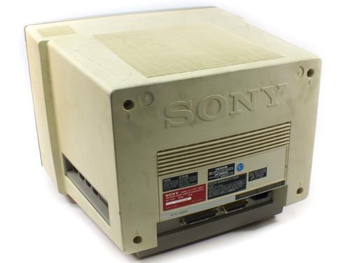Sony KTX-1350N Color Videotex Viewdata CRT Terminal w/ MFD-32W-40 Floppy Drive