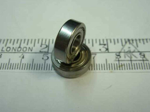 "Steel 1/4"" Bore Ball bearing - 1/4"" x 5/8"" x 5 mm"