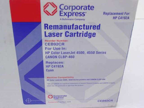 Corporate Express CEB92CR Toner Cartridge for LJ 4500/4550 - Canon CLBP-460