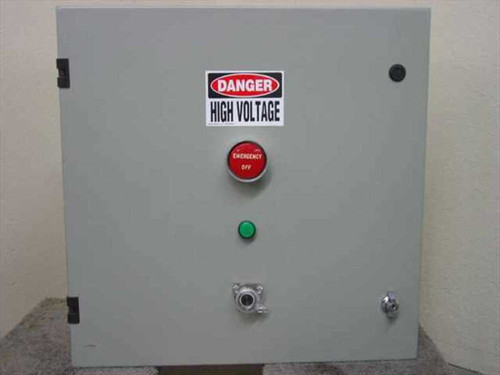Generic Power Conditioner with Emergency Cutoff Button