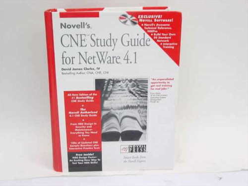 Clarke, David James for NetWare 4.1 (Novell's CNE Study Guide)