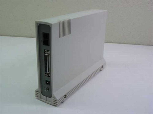 Calcom Products 1442-Ex External Modem 110V AC/500mA - Yellowed