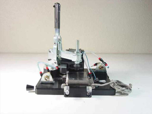 Unbranded Custom Vacuum Chuck Assembly with Steel Block & 23x21cm Aluminum Base