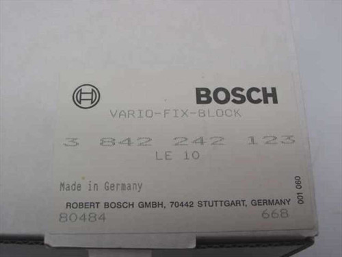 Robert Bosch Vario-Fix-Block 3 842 242 123