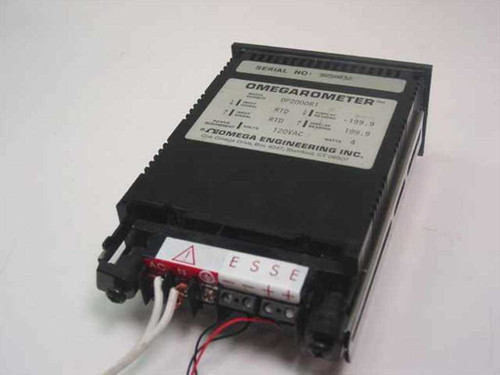 Omega Engineering DP2000-R1 Omegarometer Temperature Controller w/ Probe 120VAC