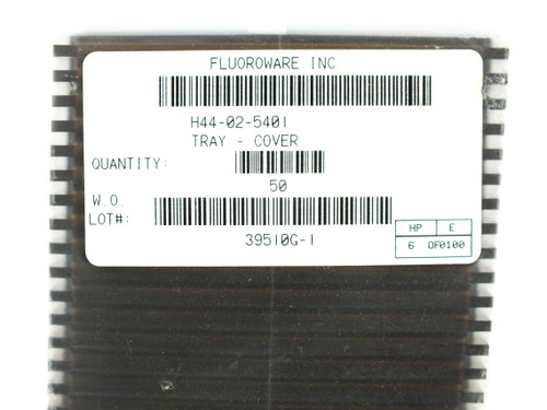 """Fluoroware H44-02 4"""" Wafer Top Tray Cover - 50 Pack - Entegris H44-02-5401 - NEW"""