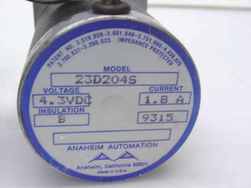 Anaheim Automation Stepper Motor 4.3VDC 1.8A Insulation B 23D204S