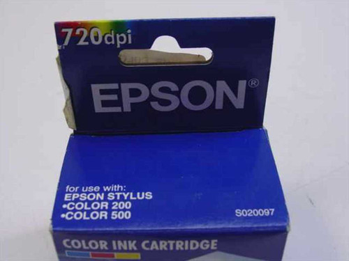 Epson Color Ink Cartridge S029007