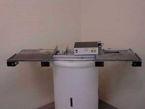 Generic Custom X-Axis Work Table with Two Pneumatic Cylinders and Tables