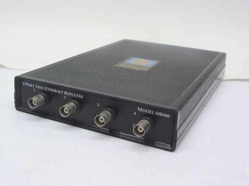 Tutankhamon Electronics 4 Port Thin Ethernet Coax Repeater - no AC Adapter MB400