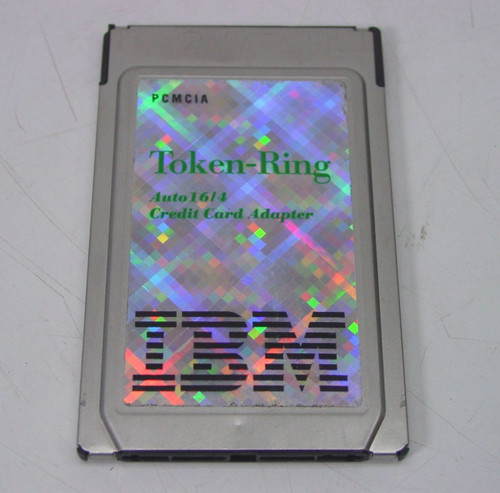 IBM PCMCIA Auto 16/4 Card Only (92G9352)
