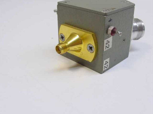 HP Format 1C SPDT Latching Coaxial Switch with SMA-F and N-F Ports