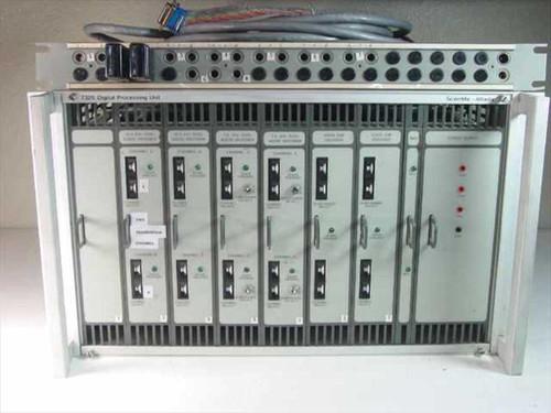 Scientific Atlanta 7325 Digital Audio DMX Decoder Processing Rack w/6 Decoders