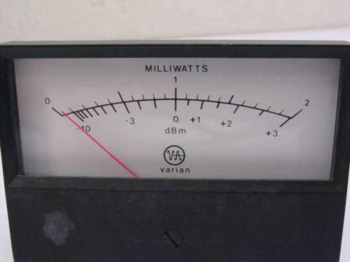 Varian Milliwatts Meter Range 0-2 (Meter)